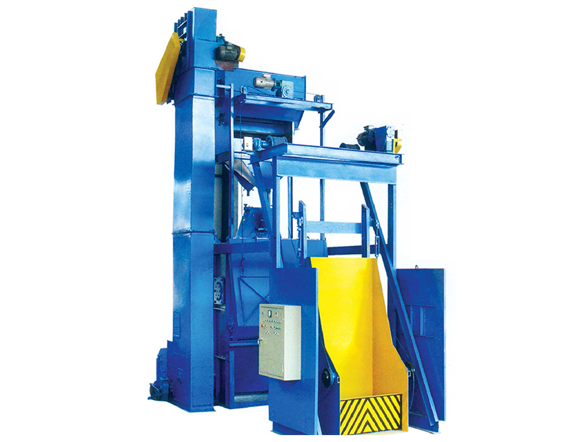 Q15GN/Q28GN Steel Belt Type Shot Blasting Machine