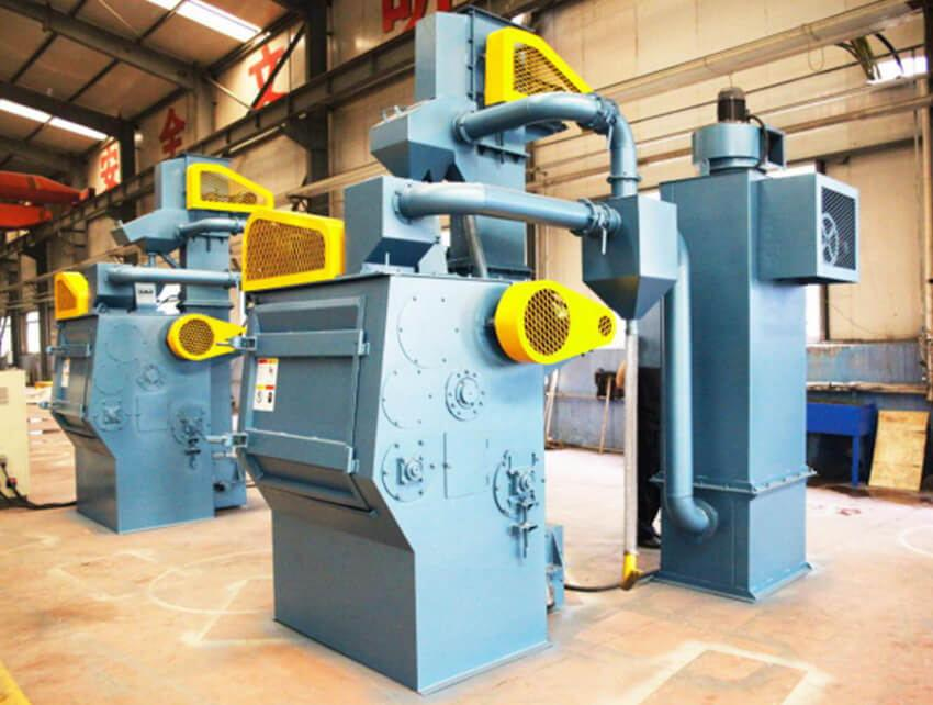 Q32 Series Tumble Tumble Belt Type Shot Blasting Machine