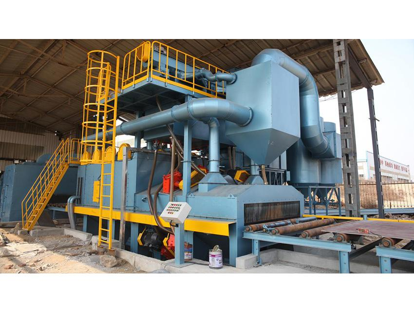Q69 Series Steel Plate Shot Blasting Machine